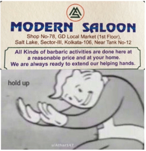 Affordable cuts, I mean haircuts.: MODERN SALOON  Shop No-78, GD Local Market (1st Floor),  Salt Lake, Sector-III, Kolkata-106, Near Tank No-12  All Kinds of barbaric activities are done here at  a reasonable price and at your home.  We are always ready to extend our helping hands.  hold up  u/Athar147 Affordable cuts, I mean haircuts.