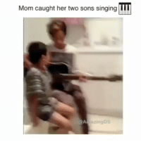 Memes, Regret, and Singing: Mom caught her two sons singing  TTT  @A azingDS Why isn't learning a musical instrument required for every kid throughout school? No one would ever regret being able to play a song like this on the guitar... fundmusicinschools @amazingds