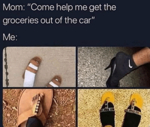 """Dank, Memes, and Target: Mom: """"Come help me get the  groceries out of the car  Me meirl by MartianCactus MORE MEMES"""