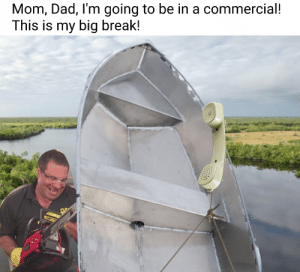 Flex Tape Fixes Big Breaks: Mom, Dad, I'm going to be in a commercial!  This is my big break! Flex Tape Fixes Big Breaks