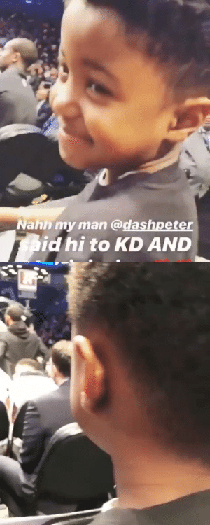 """MOM HE DID IT!""  This is the best KD & Kyrie video you will see this year.  (Via DashPeter/IG) https://t.co/kXmk8ZnPQD: ""MOM HE DID IT!""  This is the best KD & Kyrie video you will see this year.  (Via DashPeter/IG) https://t.co/kXmk8ZnPQD"