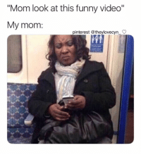"Funny, Memes, and Pinterest: ""Mom look at this funny video""  My mom  pinterest @theylovecyn_ C she just doesn't understand my communism memes"