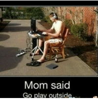 Memes, 🤖, and Ghost Recon: Mom said  Go play outside Ghost recon wildlands is lit