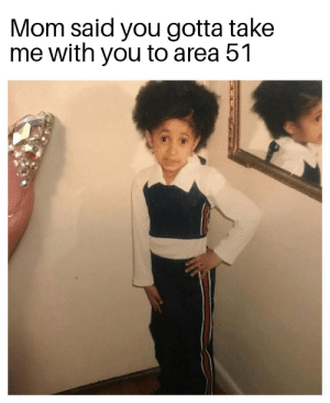 Dank Memes, Mom, and Area 51: Mom said you gotta take  me with you to area 51 come along my child