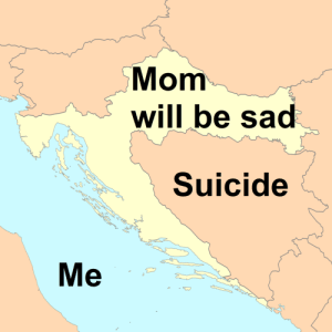 Memes, Croatia, and Suicide: Mom  will be sa  Suicide  Me Invest Croatia memes! via /r/MemeEconomy https://ift.tt/2NIovjU