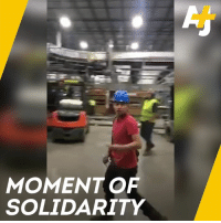 Latino workers walked out in solidarity after months of alleged harassment. The man who recorded it all has since been fired for his viral video.: MOMENT OF  SOLIDARITY Latino workers walked out in solidarity after months of alleged harassment. The man who recorded it all has since been fired for his viral video.