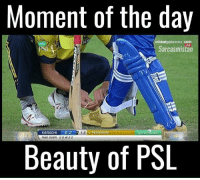 karachi: Moment of the day  cricket gateway.com  Sarcasmistan  KARACHI  2 C 1.5 v PESHAWAR  Le20  THIS OVER 00 W 22  Beauty of PSL