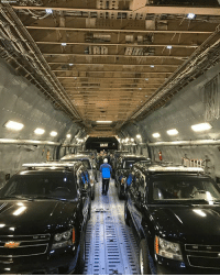 """Moments ago, the United States Secret Service let the American public know that with """" POTUSinAsia we couldn't very well leave The Beast behind!"""": Moments ago, the United States Secret Service let the American public know that with """" POTUSinAsia we couldn't very well leave The Beast behind!"""""""