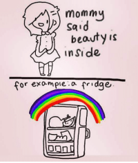 srsfunny:Beauty Is Inside: mommy  beauty is  inSide  for exo-mpie o fridge srsfunny:Beauty Is Inside