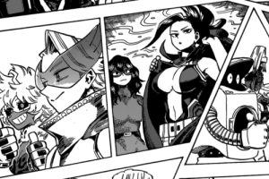 Fairy Tail, Fairy, and Momo: Momo straight up a fairy tail chick in the new chapter