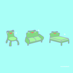 momokakkoii:  We need more froggy furniture 🐸💞 : momokakkoii:  We need more froggy furniture 🐸💞