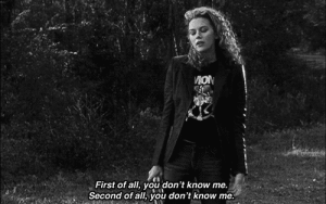 https://iglovequotes.net/: MON  First of all, you don't know me.  Second of all, you don't know me https://iglovequotes.net/