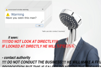 """<p>[<a href=""""https://www.reddit.com/r/surrealmemes/comments/7zxx42/have_you_seen_this_man/"""">Src</a>]</p>: moncrosonf windos warning  Warning  Have you seen this man?  OK  hello yes lets conduct business'  if seen:  F LOOKED AT DIRECTLY HE WILL SPRONK  contact authority  !!!! DO NOT CONDUCT THE BUSINESS!!!! HE WILL MAKE A FRU <p>[<a href=""""https://www.reddit.com/r/surrealmemes/comments/7zxx42/have_you_seen_this_man/"""">Src</a>]</p>"""