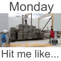 Memes, Scooter, and Skateboarding: Monday  CLICK  HERE TO  BE A BRO  Hit me like razor scooter skate skateboard school student meme memes Monday mondays stunt stunts flip office work working money success funny comedy humor fail epicfail vid video vine accident gym sports jump
