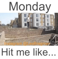 Click, Fail, and Funny: Monday  CLICK  HERE TO  BE A BRO  Hit me like parkour freerunning parkourlife athlete school student meme memes Monday mondays stunt stunts flip office work working money success funny comedy humor fail epicfail vid video vine accident gym sports jump