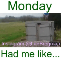 Fail, Fashion, and Memes: Monday  Instagiram a ee Bregman  Had me like run parkour freerunning fashion school student meme memes Monday mondays stunt stunts flip office work working money success funny comedy humor fail epicfail vid video vine accident gym sports jump