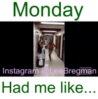 Monday  Instagram  @Lee regman  Had me like This was instant karma for wearing that shirt. • • • run running runner fashion school student meme memes Monday mondays stunt stunts flip office work working money success funny comedy humor fail epicfail vid video vine accident gym sports jump