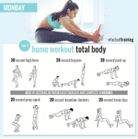 monday ofactsoftraining day 1 home workout total body 20