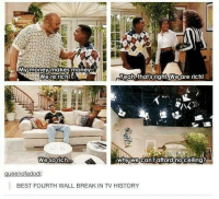 #TumblrMadeMeDoIt: money makes moneyGO  Were rich  Yeah that right. Wie are rich!  why we cant afford no ceiling?  ueenofadod  BEST FOURTH WALL BREAK IN TV HISTORY #TumblrMadeMeDoIt