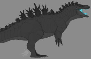 monstatron:  first drawing with my new tabletgot a request to draw my version of godzilla : monstatron:  first drawing with my new tabletgot a request to draw my version of godzilla