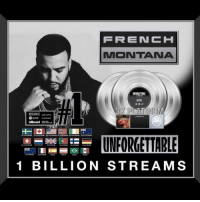 """Congrats goes out to French Montana for his song """"Unforgettable"""" featuring Swae Lee reaching 1 billion streams! 🔥💯 @FrenchMontana @GoSwaeLee https://t.co/bN7mFphm8W: MONTANA  1 BILLION STREAMS Congrats goes out to French Montana for his song """"Unforgettable"""" featuring Swae Lee reaching 1 billion streams! 🔥💯 @FrenchMontana @GoSwaeLee https://t.co/bN7mFphm8W"""