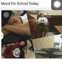 I ain't go today cuz I was so sleepy I couldn't make the whole day: Mood For School Today: I ain't go today cuz I was so sleepy I couldn't make the whole day