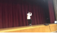 Gif, Target, and Teacher: moombah:  theliesofrello:  fukkce: This teacher battled his student in a talent show….teacher was WAVYYYY  Teacher hit the first move and I knew it was curtains   Different!!! Who is that!!!  me joining in: