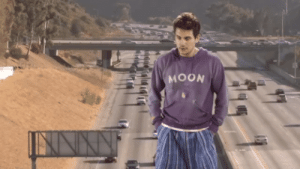 MRW I go back in time to find the guy who looked exactly like me, only to get distracted by something.: MOON  INNY MRW I go back in time to find the guy who looked exactly like me, only to get distracted by something.