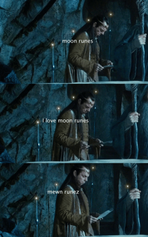 Love, Tumblr, and Blog: moon runes   I love moon runes   mewn runez queenerestor:  Background Elrond was the cutest thing ever