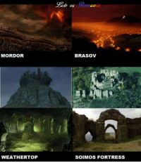 Part II, Lord of the Ring VS Romania  ~ Cristi: MORDOR  WEATHERTOP  BRASOV  SOIMOS FORTRESS Part II, Lord of the Ring VS Romania  ~ Cristi