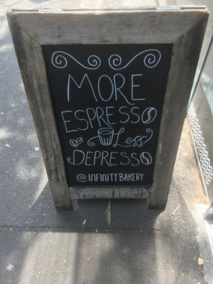 Another dump of memes I stole: MORE  ESPRE SSO  DEPRESSO  @INFINITY BAKERY Another dump of memes I stole