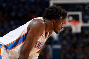 More moves for OKC.  Thunder are trading Jerami Grant to the Nuggets for a 2020 first-rounder, per Adrian Wojnarowski: More moves for OKC.  Thunder are trading Jerami Grant to the Nuggets for a 2020 first-rounder, per Adrian Wojnarowski
