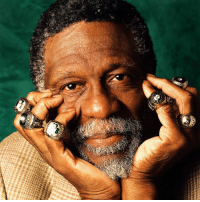 Today, Bill Russell, and Rings: More rings than fingers.  Bill Russell turns 85 today.