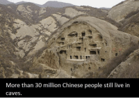 Dank, Chinese, and 🤖: More than 30 million Chinese people still live in  Caves.