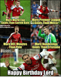 Happy Birthday, Lord Bendtner!  The Real 🐐 https://t.co/X3j3EVKxjr: More Wornacun More Premier Leaque  Goals Than Gareth BaleGoals ThaniMessi  TrollFootball  TheTrollFootballInsta  -  Fly  Emira  More UCL Minutes  N WAT Than Pele  More Bundesliga  Goals Than Cristiano  OO TrollFootball  TheTrollFootball Insta  Happy Birthday LOrd Happy Birthday, Lord Bendtner!  The Real 🐐 https://t.co/X3j3EVKxjr
