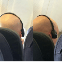 Driving, Fall, and The Worst: morefunthanb4:  This guy had his headphones on like this for almost the entire flight back from Queensland and it was driving me nuts. It was as if he didn't even care or notice his ear was folded over, which is insane. How could you possibly not realise? I was trying to read a book but I couldn't concentrate, every time I looked up it was the same. I wanted to reach over and fix it,  ask him what the fuck is wrong with him that he can just be ok with having his ear like that. I was furious. It was the worst flight ever.  What if he just needs to make himself uncomfortable so that he wouldn't fall asleep, so that he would not attack and almost kill another person while being a snake?