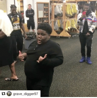 Hype, Lil Terrio, and Sports: MORIL  grave digger97 Lil TerRio getting the Steelers hyped for their playoff game tomorrow 😂 (via @grave_digger97, h-t @houseofhighlights)