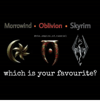 Morrowind Oblivion Skyrim  @the empire of tamriel  which is your favourite? Which is your favourite? - - - - Follow for more skyrim skryrimremasted oblivion morrowind elderscrolls magic life quests dragonborn paarthurnax stopcriminalscum gaming gameplay meme ps4 xbox pc dragonborn dragon adventure elfs khajiit orcs sheogorath
