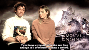 Tumblr, youtube.com, and Best: MORTAL  If you leave a yogurt out in the sun long  enough, it'll eventually develop a culture yass-klaus:  ewanmgregor:  robert sheehan's best joke  I ain't even mad. 🤷🏻‍♀️ 🇦🇺
