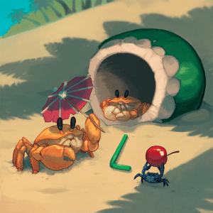 Target, Tumblr, and Aquarium: mosaur:  heyoo heres the piece i did for Crabzine!You should go check out the whole thing, its free but any donations toward it are going to theMonterey Bay Aquarium which is pretty rad!