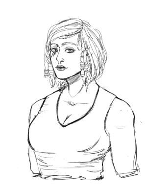 Tumblr, Blog, and Http: mossy-akogi-scribbles:My babe Pharah 3