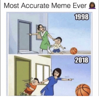 Af, Funny, and Lol: Most Accurate Meme Ever  1998  2018 Lol accurate af