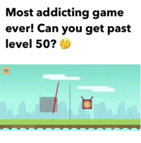 """Af, Funny, and Lit: Most addicting game  ever! Can you get past  level 50? ( link in my bio to play) """"Tricky Shot"""" game is lit af, go play and beat my high score 130 for a shoutout tag me in your scores after !"""