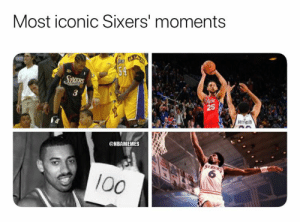 Ben Simmons' 3 will go down in history. https://t.co/7PyFS1AQcZ: Most iconic Sixers' moments  LGACH A LAES  54  SKERS  Pala  @NBAMEMES  513RS  6  100  25 Ben Simmons' 3 will go down in history. https://t.co/7PyFS1AQcZ