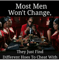 facts ♻️ @mseve822 @mseve822 👣👣👣her !! Show 💖💖😘 cheaters cheating men rkelly women hoesbelike: Most Men  Won't Change,  e822  SENe  They Just Find  Different Hoes To Cheat With facts ♻️ @mseve822 @mseve822 👣👣👣her !! Show 💖💖😘 cheaters cheating men rkelly women hoesbelike