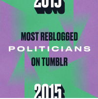 """Bernie Sanders, David Cameron, and Donald Trump: MOST REBLOGGED  POLITICIAN S  ON TUMBLR  2015 <h2>Most Reblogged Politicians</h2><p>This list doubles as a filibuster if you repeat it aloud and endlessly.<br/></p><ol><li><b><a href=""""http://www.tumblr.com/search/barack%20obama"""">Barack Obama</a></b>