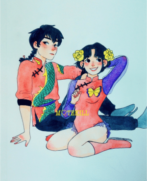motekill:  I love that Ranma ½ episode where they do ice skating, i specially love the outfits!! These ones were my favorites 💕: MOTEKILL motekill:  I love that Ranma ½ episode where they do ice skating, i specially love the outfits!! These ones were my favorites 💕