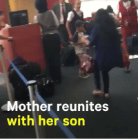 Memes, Honduras, and Trump: Mother reunites  with her son A woman from Honduras just reunited with her son after being sent to separate detention centers two months ago as a result of the Trump administration's 'zero tolerance' policy. Repost @nowthisnews