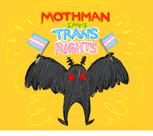 nuka-rockit:  im on a roll with ms paint my dudes: MOTHMAN nuka-rockit:  im on a roll with ms paint my dudes