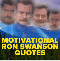 Best fakertarian, ever.: MOTIVATIONAL  RON SWANSON  QUOTES Best fakertarian, ever.